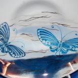 """Schale, Thomas Porzellan, """"Tanz der Schmetterlinge"""" mit Lüster und Glanzgold, Ø ca. 21cm, T 5 cm, 65,- € Art.: 1080"""